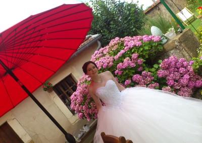 Mariage à la Maison des roses