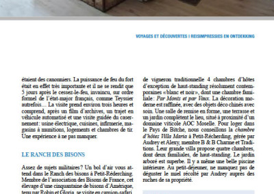 Magazine Travelling News Revue du tourisme Belge