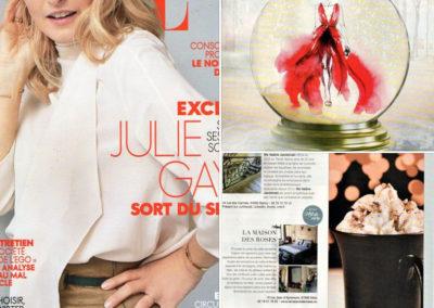 """Revue de presse """"ELLE Magazine"""" Décembre 2018"""
